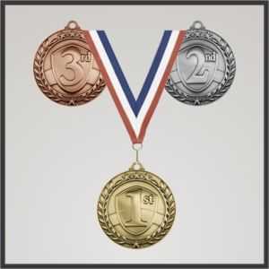 Wreath Activity Medals