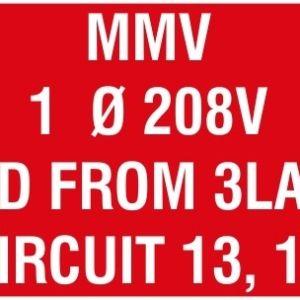 "Panel Plate (1.5""x4"")"