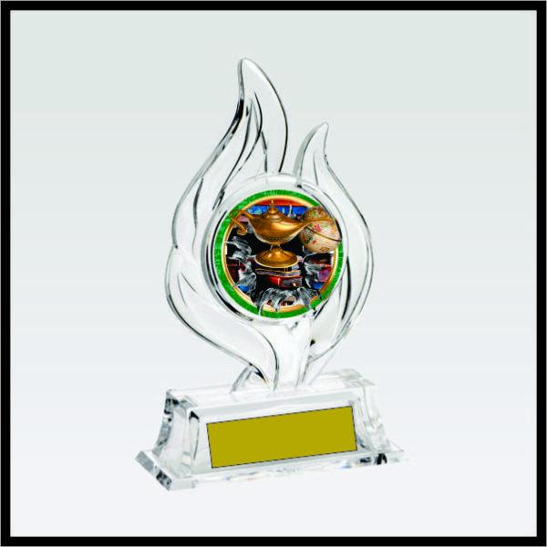 Krystal Flame Award7 for Academics