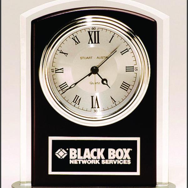 Beveled Glass Clock