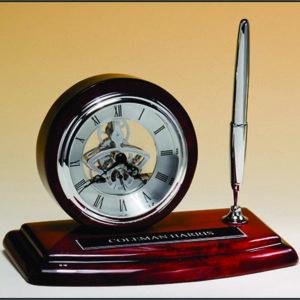Skeleton Desk Clock