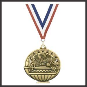 Music Academic Performance Medallion