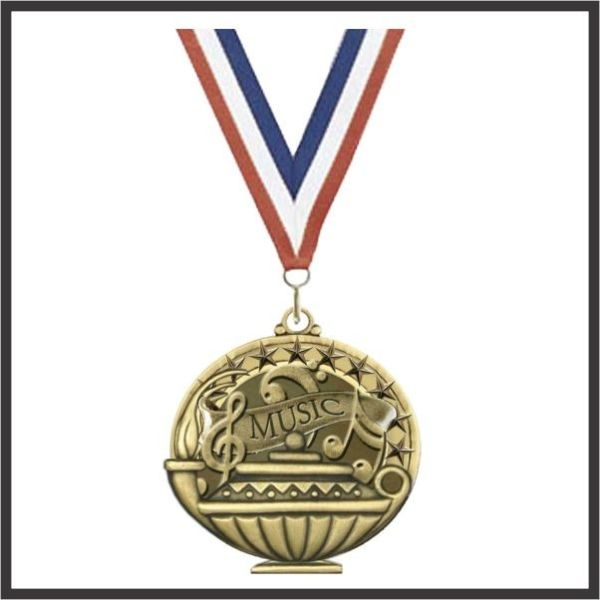 Music Academic Performance Medallion