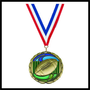 Football Medal (CEM) - 2-1/2""