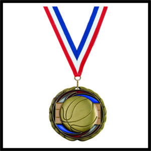 Basketball Medal (CEM) - 2-1/2""