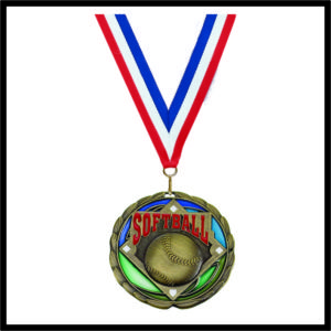 Softball Medal (CEM) - 2-1/2""