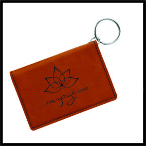 Keychain with ID Holder