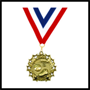 Basketball Medal (TS) - 2-1/4""