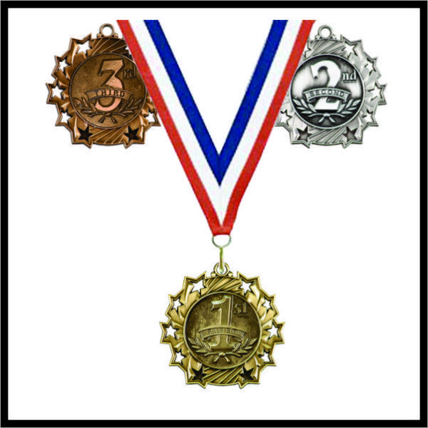 """1st Place Medal (TS) - 2-1/4"""""""