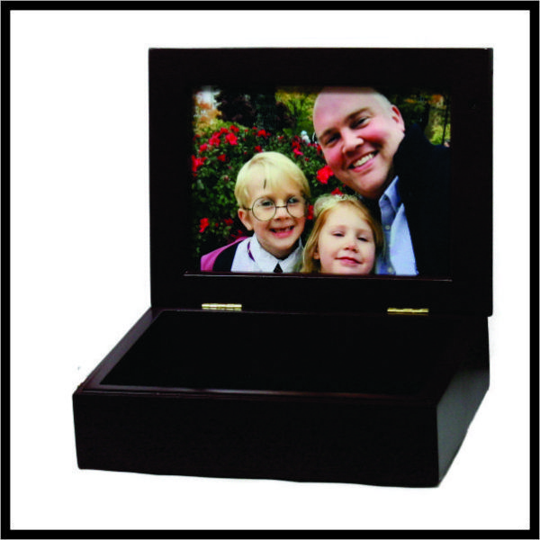 Photo Box - mahogany