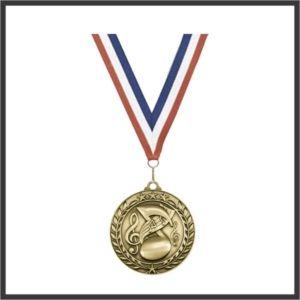 "Music Medal (WAM) - 3"""