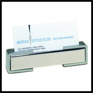 Metal Desktop Business Card Holder