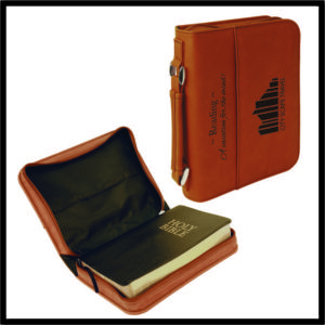 Leatherette Book/Bible Cover - 11""