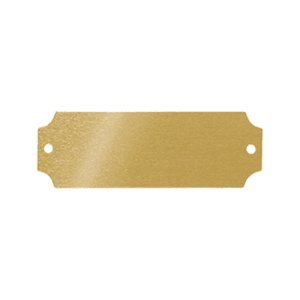 Brass Plate (small)