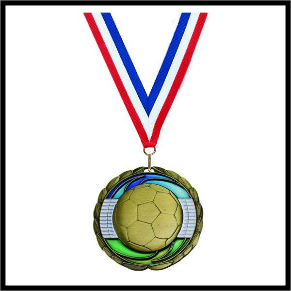"""Soccer Medal (CEM) - 2-1/2"""""""