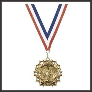 "Drama Medal (TS) - 2-1/4"""