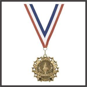 """Participant Medal - 2-1/4"""""""