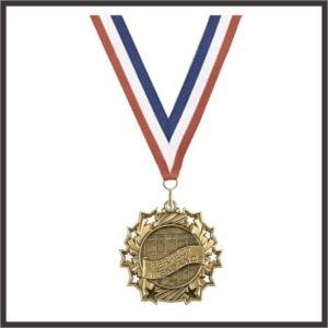 """Attendance Medal - 2-1/4"""""""