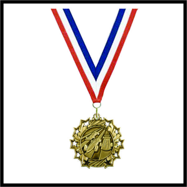 "Derby Medal (TS) - 2-1/4"""