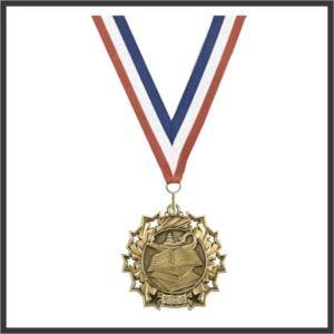 "Reading Medal - 2-1/4"""