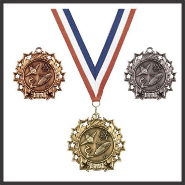"""Science Medal - 2-1/4"""""""