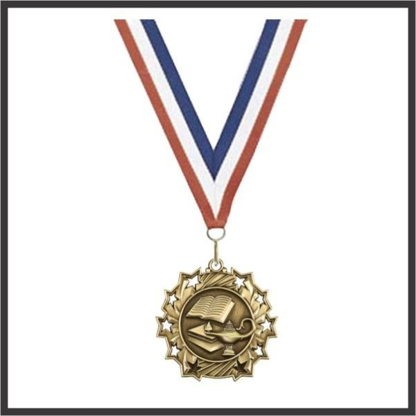 "Education Medal (TS) - 2-1/4"""