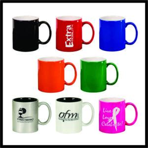 LazerMug- coffee mug - 11 oz.