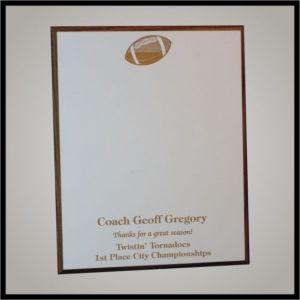 Signature Sport Plaque