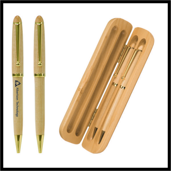 Maple Pen and Pencil Set