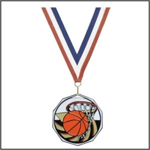 Basketball Medallions