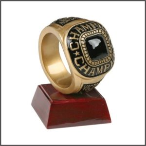 champion ring trophy