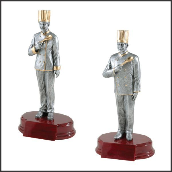 Chef Statue trophy
